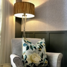 Soft furnishings to compliment fresh upholstery